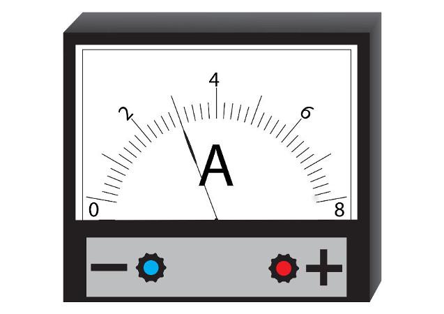 Os amperímetros são utilizados para realizar medidas de corrente elétrica.