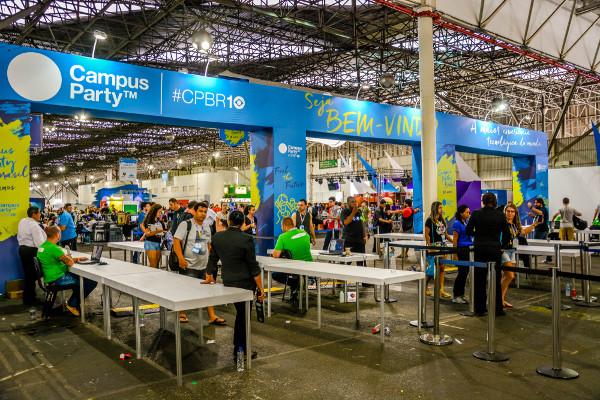 No Brasil, a Campus Party é realizada em seis capitais [1]