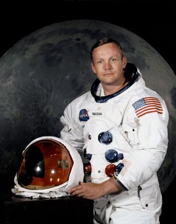 A escolha de Neil Armstrong para ser o primeiro homem a pisar na superfície lunar foi divulgada em março de 1969. (Crédito: Nasa)