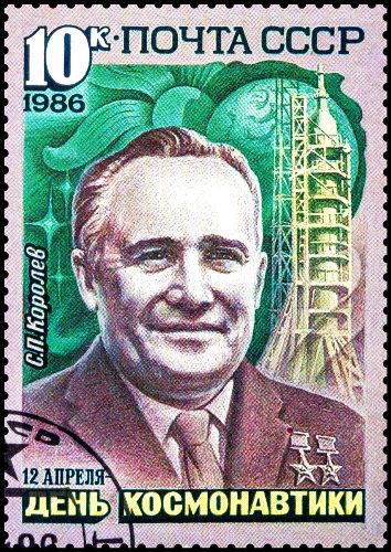 Sergei Korolev foi o cientista que esteve por trás de todo o programa espacial soviético. (Crédito: Baka Sobaka e Shutterstock)