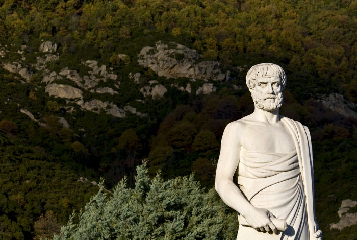 Para Aristóteles, a felicidade tinha relação com a vida contemplativa.