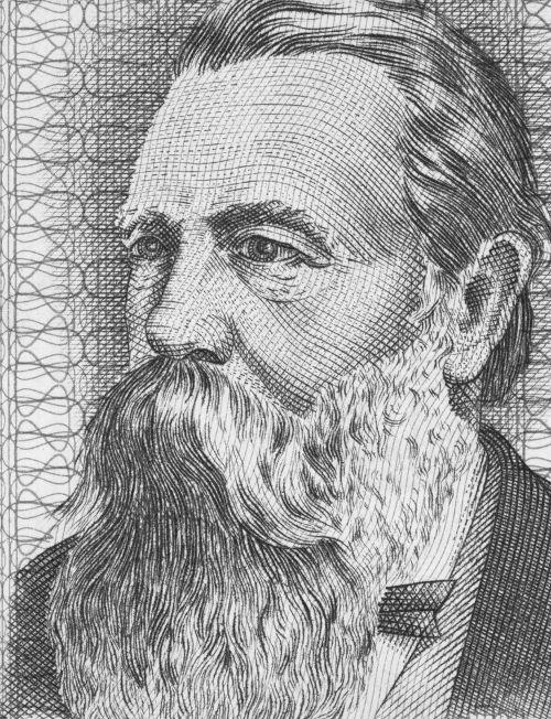 Friedrich Engels foi o parceiro intelectual de Karl Marx.