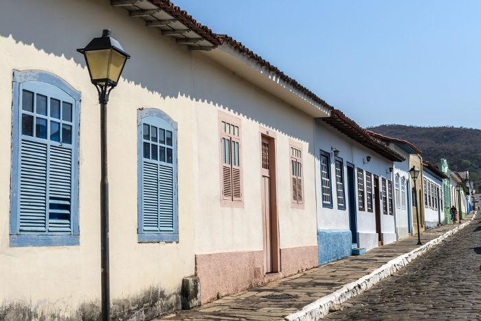 Cidade de Goiás, berço de Cora Coralina e tema recorrente de seus poemas e contos. [2]