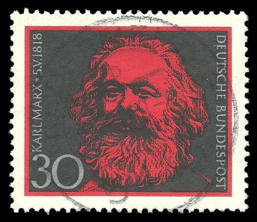 Karl Marx foi um dos principais sociólogos clássicos. [1]