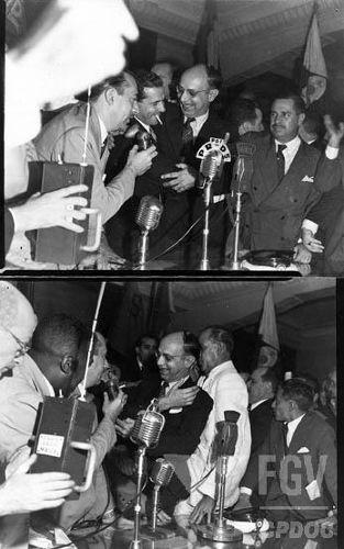 Transmissão do Ministério do Trabalho para João Goulart, em 1953. [1]