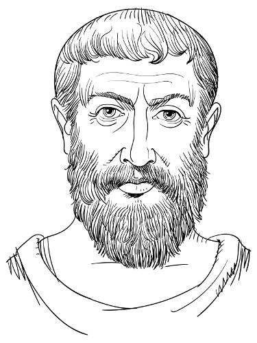 Parmênides é considerado pelos historiadores da Filosofia como o pensador do imobilismo universal.