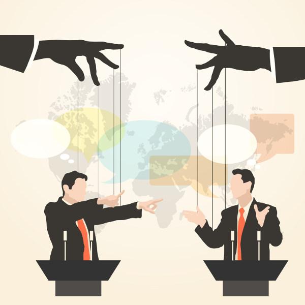 A retórica pode ser utilizada como instrumento de manipulação da opinião.
