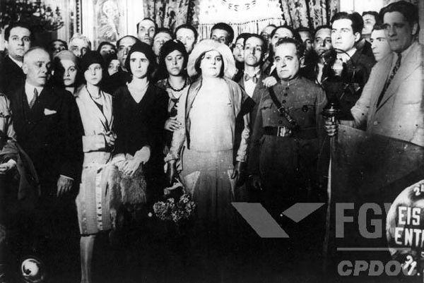 Com a Revolução de 1930, Getúlio Vargas foi nomeado presidente provisório do Brasil.[1]