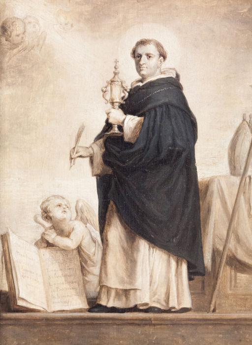 Tomás de Aquino foi um padre e professor católico medieval, representante do período escolástico da Filosofia.