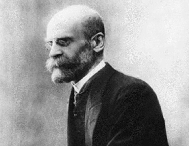 Émile Durkheim, o fundador do método sociológico.