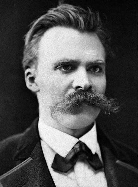 O filósofo alemão Friedrich Nietzsche.