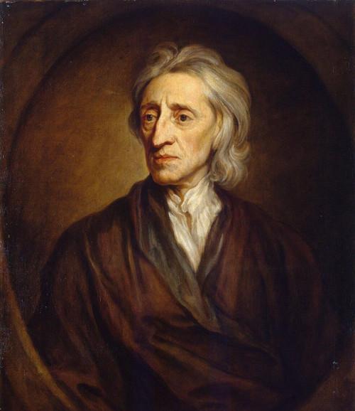 O filósofo inglês John Locke foi um dos principais representantes do empirismo britânico.