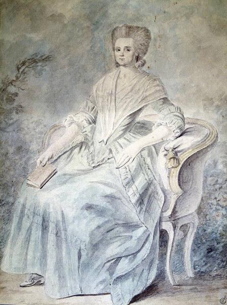 Olympe de Gouges, autora da Declaração dos Direitos da Mulher e da Cidadã.