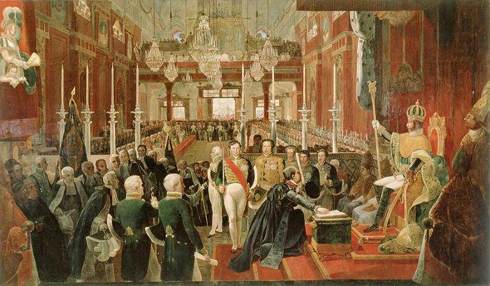 Com a independência, d. Pedro foi coroado imperador do Brasil e tornou-se d. Pedro I.[1]