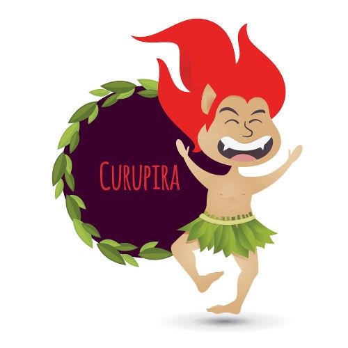 O curupira é personagem de uma lenda do folclore brasileiro que surgiu nos povos indígenas e que foi relatada, pela primeira vez, no século XVI.