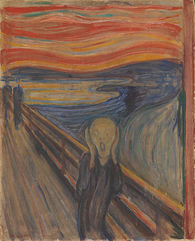Edvard Munch, O grito, 1893.