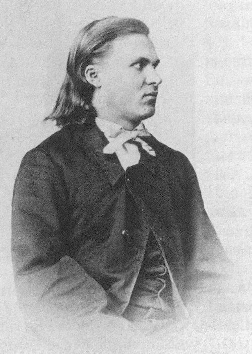Nietzsche aos 18 anos de idade.