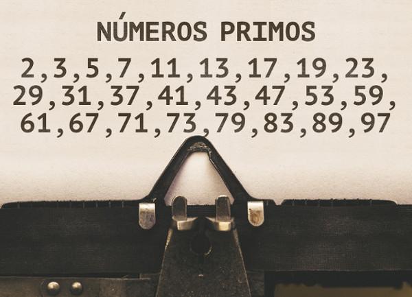 Números primos entre 1 e 100.