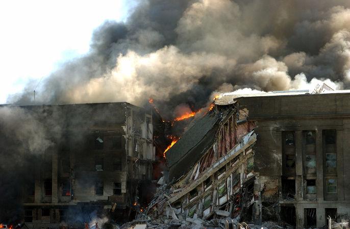 O Pentágono, sede do Departamento de Defesa dos EUA, também foi atacado no dia 11 de setembro de 2001.