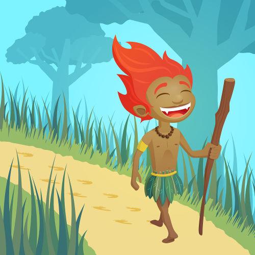 Curupira ficou conhecido por ser o protetor da floresta contra aqueles que faziam mal a ela.