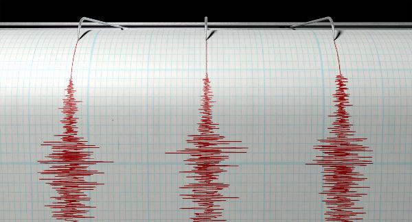 Os terremotos, captados pelos sismógrafos, são ondas mecânicas assim como o som.