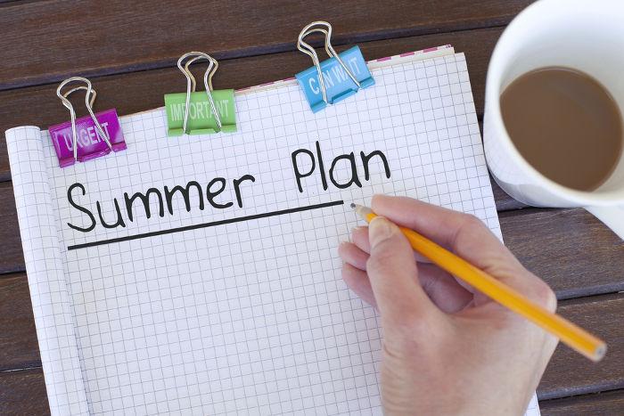 Vamos planejar o verão?