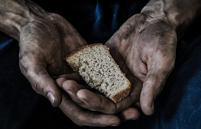 Muitas pessoas no mundo sofrem com insegurança alimentar.