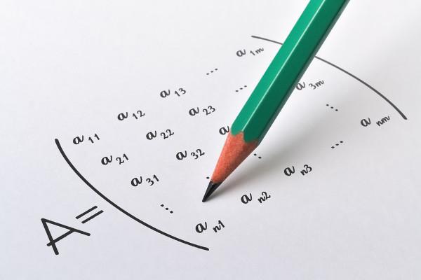 Matriz genérica de n linhas e m colunas.