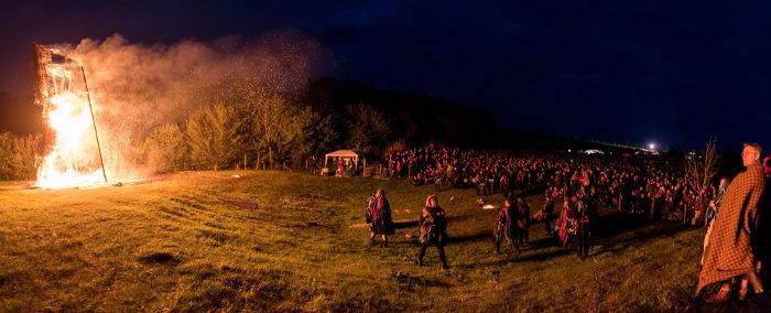 O Halloween é originário de uma festa dos celtas chamada Samhain.