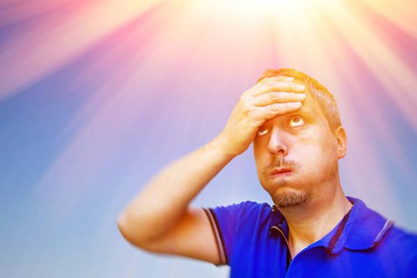 No verão, a sensação de calor é sentida mais intensamente quando associada à alta umidade do ar.