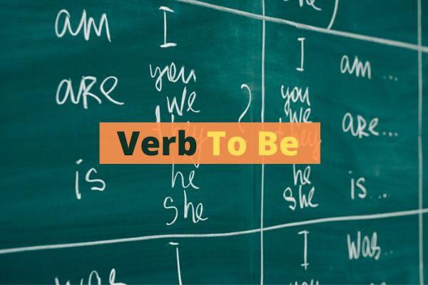 O verbo to be é um dos verbos irregulares em inglês.