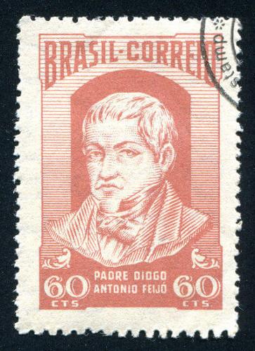 Diogo Antônio Feijó, o Padre Feijó, foi um dos grandes nomes da política brasileira durante o Período Regencial
