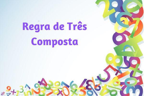 A regra de três composta é muito utilizada em situações de comparação proporcional envolvendo três ou mais grandezas.