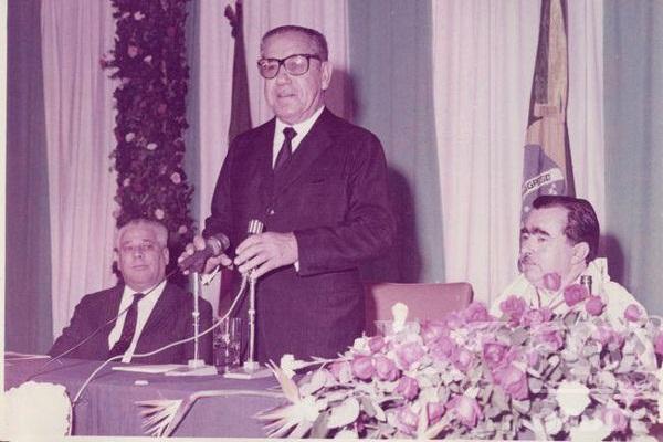 Durante o governo de Artur da Costa e Silva, foi emitido o Ato Institucional nº 5. [1]