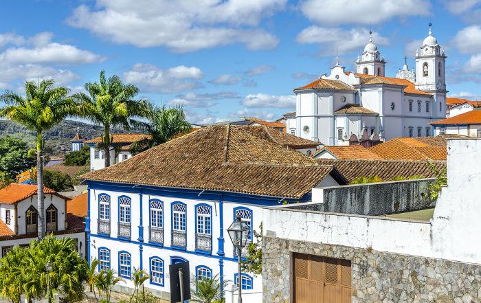 Chica da Silva passou grande parte da sua vida em Diamantina, cidade no interior de Minas Gerais.