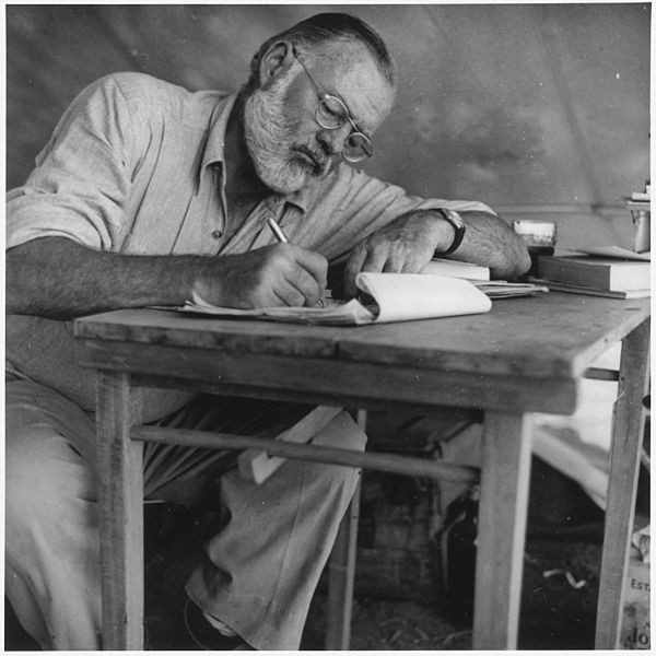 Ernest Miller Hemingway foi Nobel de Literatura em 1954.
