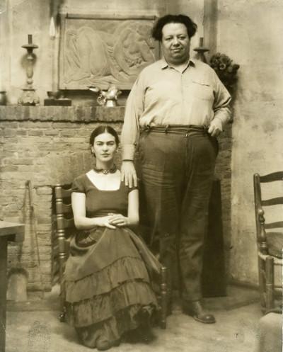 Frida e Diego viveram um casamento conturbado. [5]