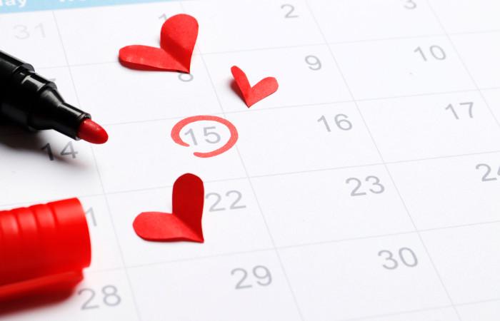 O período fértil é o período próximo ao evento da ovulação.