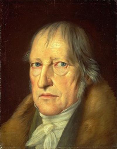 Hegel foi um dos principais nomes do idealismo alemão.