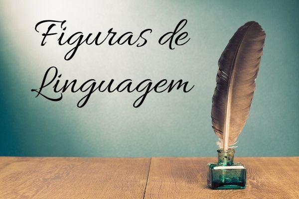 As figuras de linguagem enriquecem o trabalho linguístico.