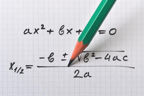 A fórmula de Bhaskara é utilizada para resolver a função do 2º grau.