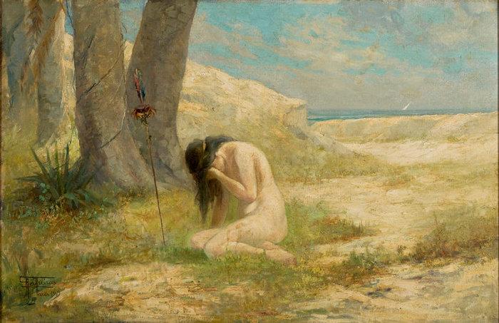 Iracema, por Antonio Parreiras, 1909. [1]