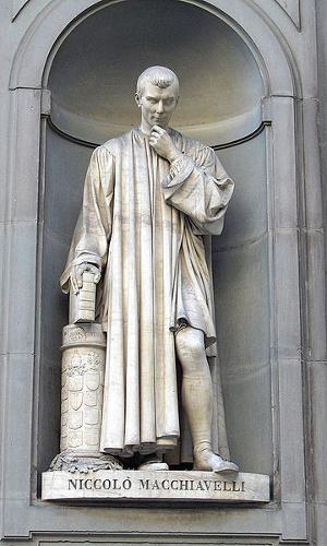 Nicolau Maquiavel é um grande nome da filosofia política da Idade Moderna. [1]