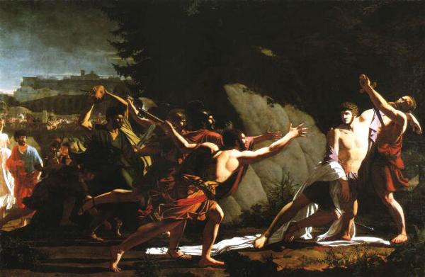 Os inimigos de Caio Graco mobilizaram-se contra ele em 121 a.C., levando-o à morte. [1]