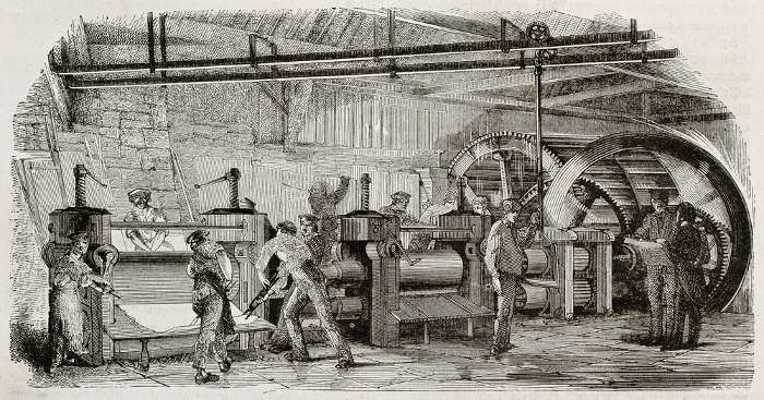 O Taylorismo busca fracionar o trabalho, a fim de conseguir maior produtividade em menor tempo.