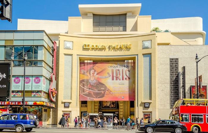 O Dolby Theatre, em Los Angeles, é o local que o Oscar é realizado desde 2002.[2]