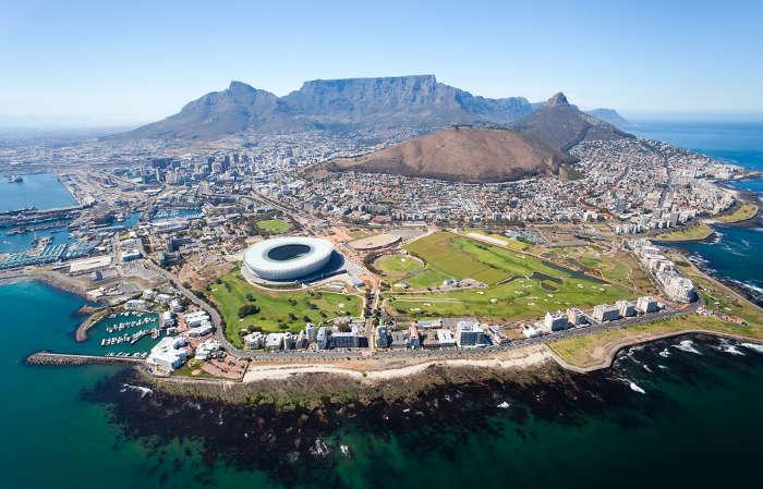 África do Sul é um dos países mais desenvolvidos do continente africano.