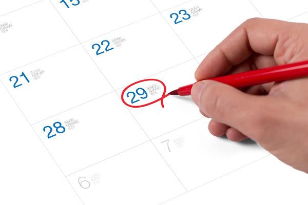 """O ano bissexto possui um dia a mais do que o ano tradicional. Esse dia """"extra"""" é 29 de fevereiro."""