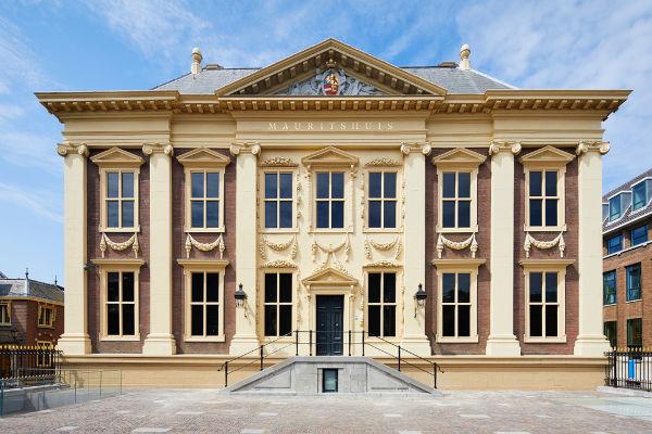 A casa de Maurício de Nassau, em Haia, é atualmente uma galeria de arte.[2]
