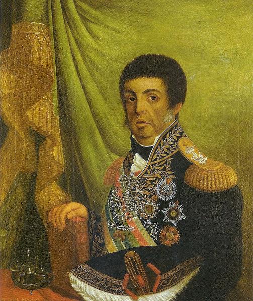 Dom João VI foi o príncipe regente do Brasil após a transferência da família real para o Rio de Janeiro.